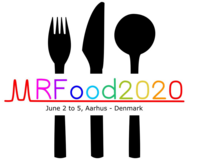Logo for the conference MRFood2020