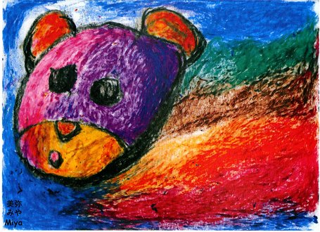 Drawing of bear by Miya