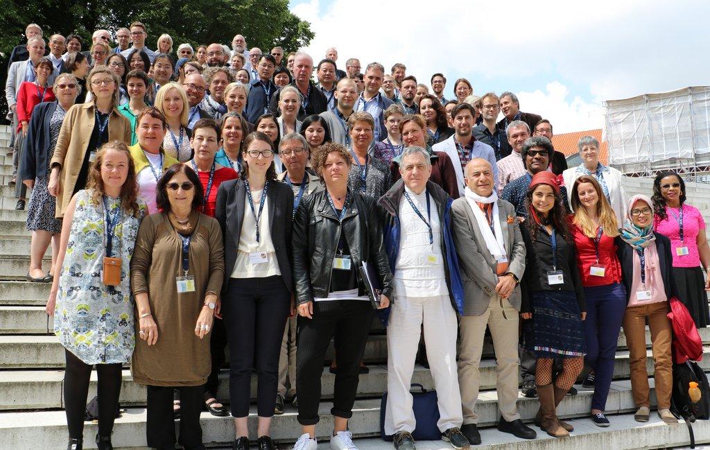 Group photo at the University Futures conference by Ib Jensen/AU  Kommunikation.